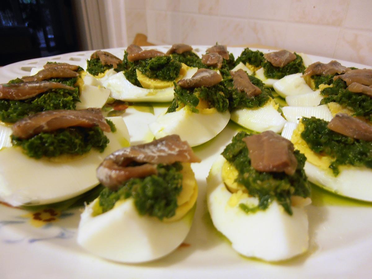 Πράσινα Αυγά αλα Μπρούνα