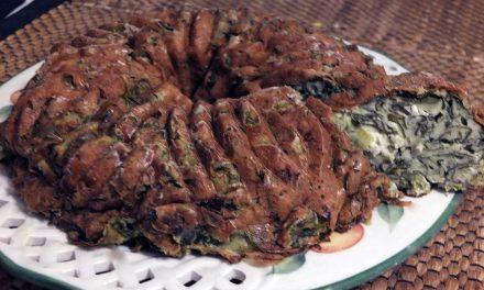 Αλμυρό κέικ σπανάκι