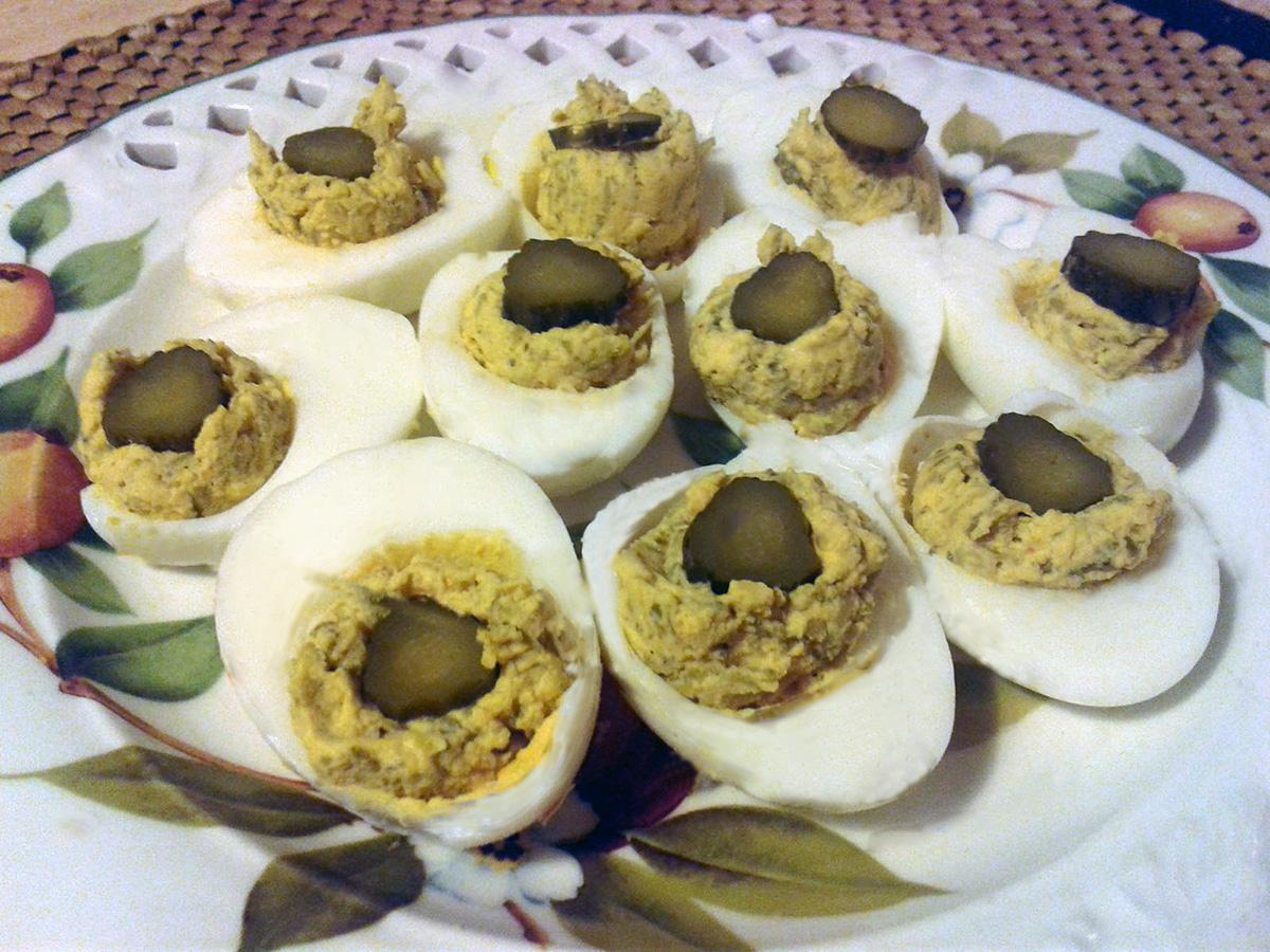 Αυγά μιμόζα