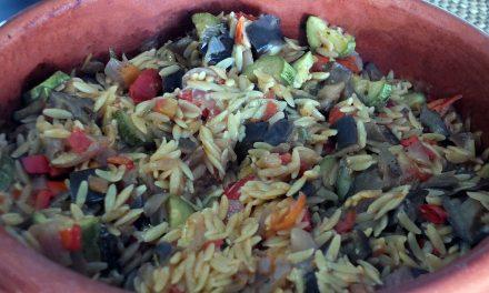 Γιουβέτσι με λαχανικά στο πήλινο