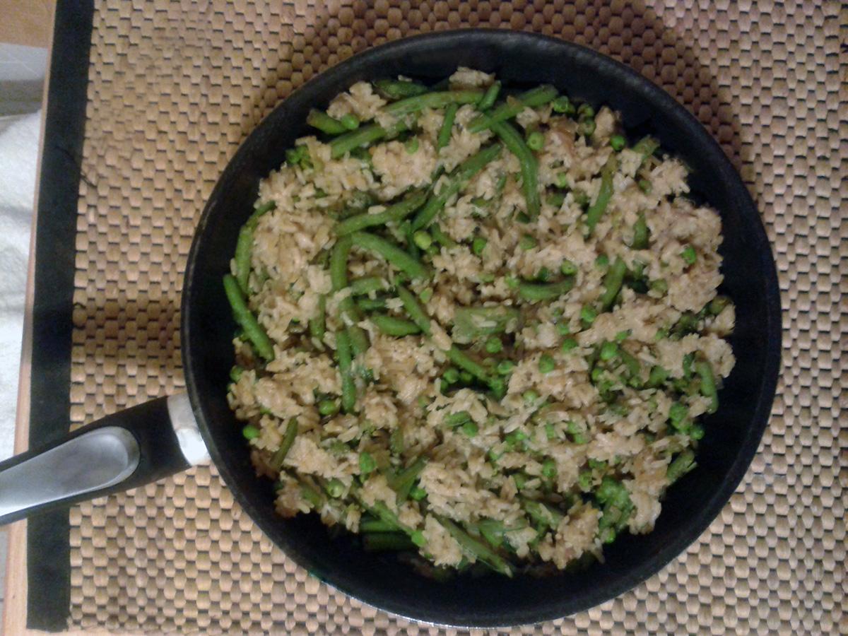 Κινέζικο ρύζι με λαχανικά και σόγια