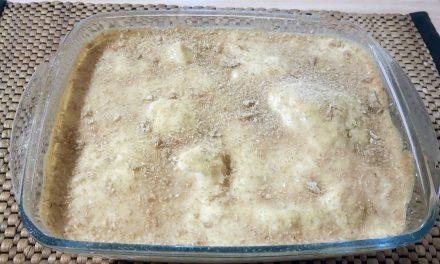 Κουνουπίδι φουρνιστό με κρέμα γιαουρτιού