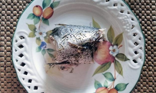 Μυλοκόπι στον φούρνο με λεμόνι