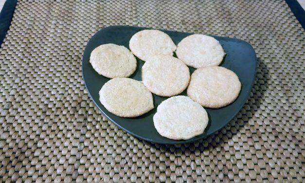 Μπισκότα από ζαχαρούχο γάλα με καρύδα