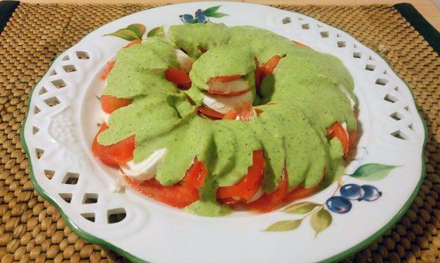 Ντομάτα με Μοτσαρέλα