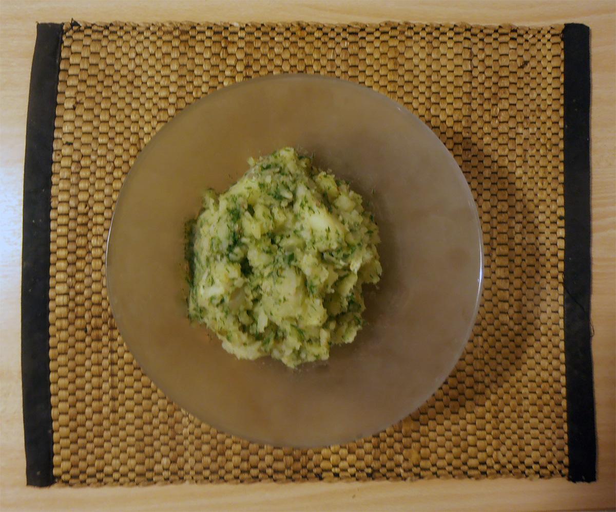 Πράσινη πατατοσαλάτα