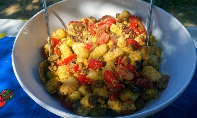 Σαλάτα με νιόκι πατάτας